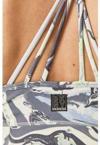 Wielokolorowy biustonosz sportowy DKNY z odpinanymi ramiączkami
