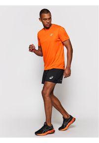 Asics Koszulka techniczna Katakana 2011A813 Pomarańczowy Regular Fit. Kolor: pomarańczowy