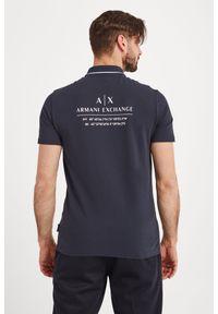 Armani Exchange - POLO ARMANI EXCHANGE. Typ kołnierza: polo. Wzór: jednolity, nadruk. Styl: sportowy