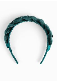Opaska do włosów bonprix niebieskozielony