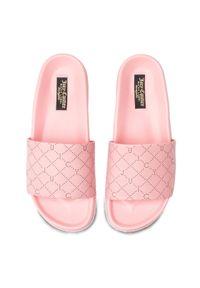 Różowe klapki Juicy Couture Black Label