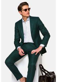 Lancerto - Garnitur Zielony Lugano. Kolor: zielony. Materiał: wiskoza, materiał, wełna, tkanina, włókno. Wzór: ze splotem, gładki