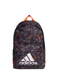 Adidas - Plecak adidas Classic GRA1 FS8333. Materiał: tkanina, poliester. Wzór: kolorowy, ze splotem. Styl: klasyczny, elegancki, casual