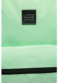 Vans - Plecak. Kolor: turkusowy. Wzór: paski