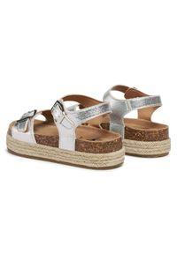 Srebrne sandały Xti