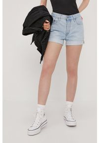 Levi's® - Levi's - Szorty jeansowe. Okazja: na co dzień, na spotkanie biznesowe. Kolor: niebieski. Materiał: jeans. Styl: casual, biznesowy