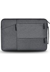 "TECH-PROTECT - Etui Tech-Protect Pocket Laptop 14"" Ciemnoszary. Kolor: szary"