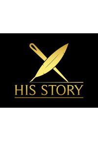 Złote szelki His Story w paski