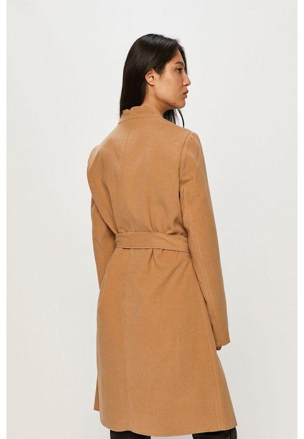 Beżowy płaszcz Vila bez kaptura