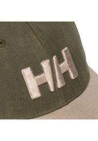 Zielona czapka z daszkiem Helly Hansen