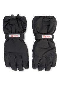 Czarna rękawiczka sportowa LEGO Wear narciarska