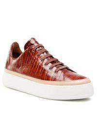 Brązowe buty sportowe Max Mara