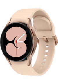 SAMSUNG - Smartwatch Samsung Galaxy Watch 4 Aluminum 40mm Różowy (SM-R860NZDAEUE). Rodzaj zegarka: smartwatch. Kolor: różowy