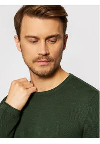 Only & Sons - ONLY & SONS Sweter Panter 22016980 Zielony Regular Fit. Kolor: zielony. Wzór: motyw zwierzęcy