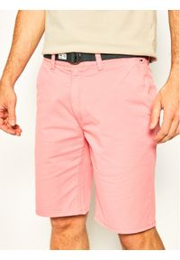 Różowe szorty Tommy Jeans vintage