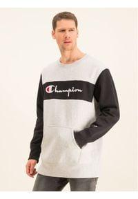 Champion Bluza Reverse Weave 214049 Szary Oversize. Kolor: szary