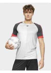 Koszulka sportowa 4f raglanowy rękaw, do piłki nożnej