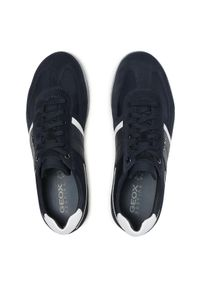 Geox Sneakersy U Renan B U154GB 022FU C4002 Granatowy. Kolor: niebieski