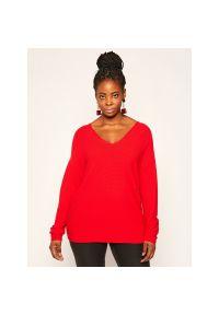 Czerwony sweter Persona by Marina Rinaldi
