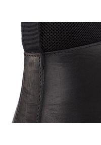 Czarne buty zimowe Nobrand casualowe, na co dzień, z cholewką #7