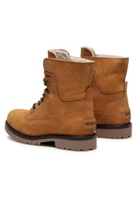 Brązowe buty zimowe Wrangler
