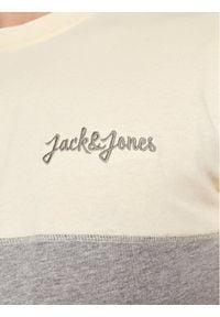 Jack & Jones - Jack&Jones T-Shirt Aidens 12187132 Żółty Regular Fit. Kolor: żółty #5