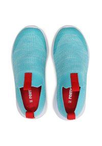 Reima - Sneakersy REIMA - Bouncing 569413 7320. Okazja: na co dzień. Kolor: niebieski. Materiał: materiał. Szerokość cholewki: normalna. Styl: casual