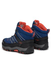 Niebieskie buty zimowe CMP marine, z cholewką