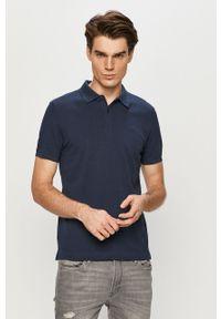 Niebieska koszulka polo s.Oliver casualowa, gładkie, polo, na co dzień