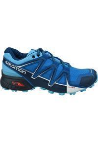 Niebieskie buty do biegania salomon Salomon Speedcross, z cholewką
