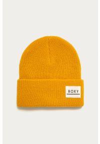 Żółta czapka Roxy z aplikacjami