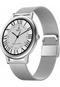 Smartwatch Bakeeley E10 Srebrny. Rodzaj zegarka: smartwatch. Kolor: srebrny