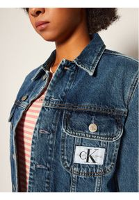 Niebieska kurtka jeansowa Calvin Klein Jeans