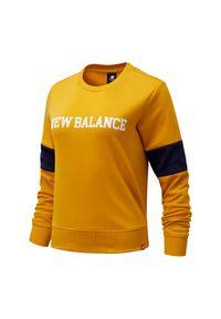 New Balance WT13807VGL. Materiał: bawełna, tkanina. Wzór: napisy, paski. Styl: klasyczny