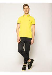 Żółta koszulka polo TOMMY HILFIGER polo
