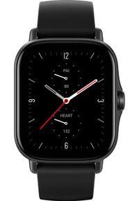 AMAZFIT - Smartwatch Amazfit GTS 2E Czarny (ZEG-SMW-0081). Rodzaj zegarka: smartwatch. Kolor: czarny