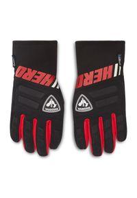 Czarne rękawiczki sportowe Rossignol narciarskie