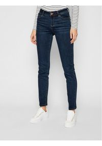 Niebieskie jeansy slim Morgan De Toi