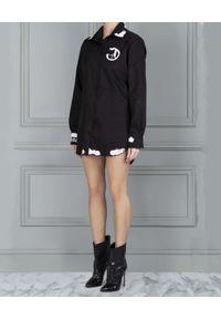 CHAOS BY MARTA BOLIGLOVA - Czarna koszula Muddy. Kolor: czarny. Wzór: haft, aplikacja