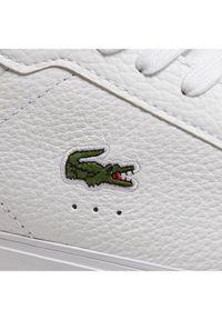 Lacoste Sneakersy Powercourt 0721 2 Sma 7-41SMA002821G Biały. Kolor: biały