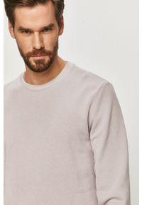 Fioletowa bluza nierozpinana Only & Sons bez kaptura, na co dzień, casualowa