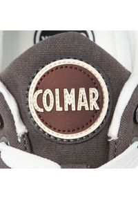 Szare półbuty Colmar klasyczne, z cholewką, na co dzień