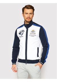 Aeronautica Militare Bluza 211FE1589F419 Biały Regular Fit. Kolor: biały