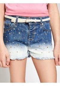 Mayoral Szorty jeansowe 3210 Granatowy Regular Fit. Kolor: niebieski. Materiał: jeans