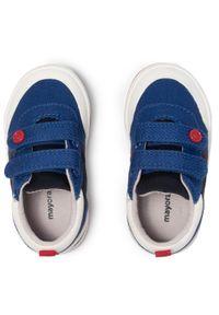Mayoral - Sneakersy MAYORAL - 41290 Klein 68. Okazja: na co dzień. Zapięcie: rzepy. Kolor: niebieski. Materiał: materiał. Szerokość cholewki: normalna. Styl: casual