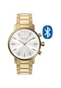 Kronaby Połączony wodoodporny zegarek Carat A1000-2447. Styl: retro