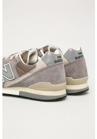 New Balance - Buty CM996GY. Zapięcie: sznurówki. Kolor: szary. Materiał: guma. Model: New Balance 996