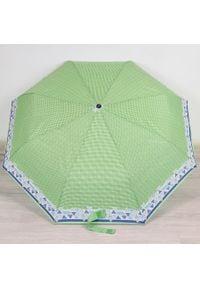 Parasol składany DOPPLER PA134 seledynowy. Kolor: zielony. Materiał: materiał