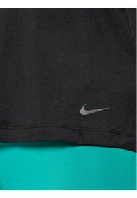 Czarny top sportowy Nike