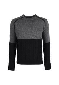 Sweter Trussardi Jeans casualowy, raglanowy rękaw